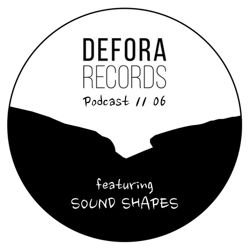 DEFORA RECORDS PODCAST COVER TEMPLATE