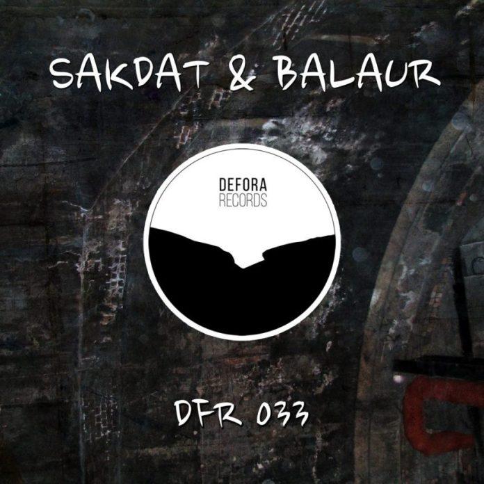 ANORMAL EP by Sakdat & Balaur (DFR033)